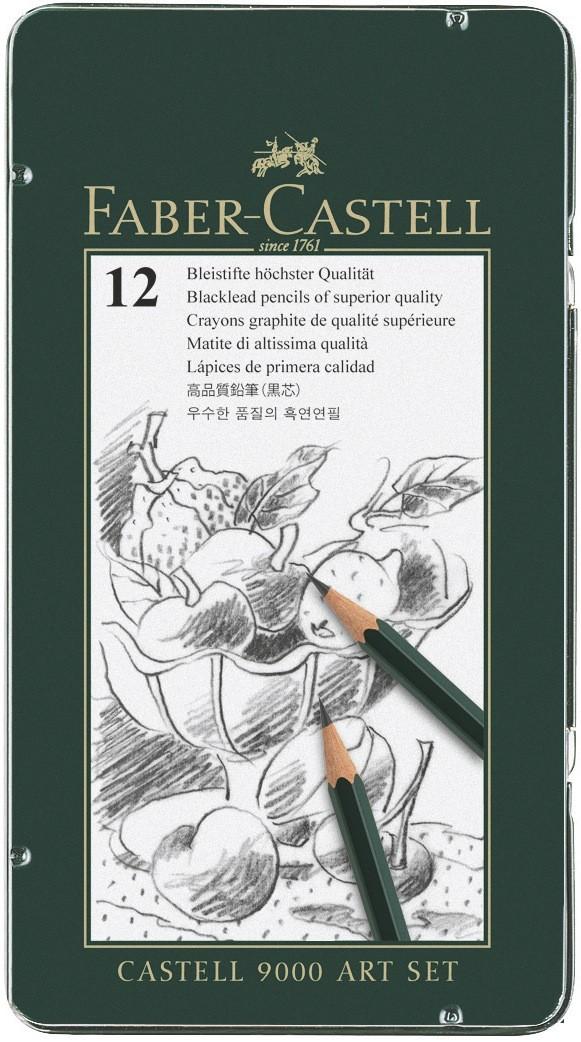 LLAPIS DE GRAFIT FABER CASTELL (12 u)