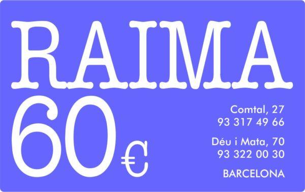 TARGETA REGAL RAIMA 60