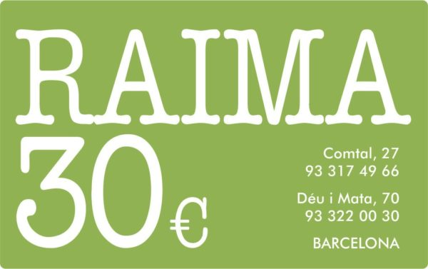 TARGETA REGAL RAIMA 30