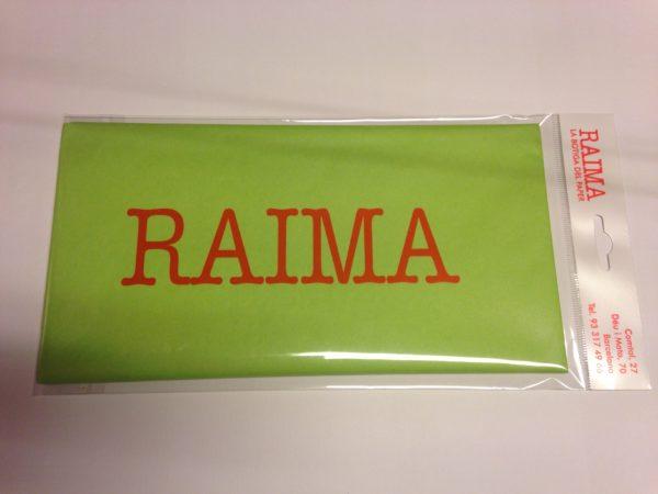 PAPER SEDA RAIMA 75 X 50 VERD LIMA 5 UNITATS