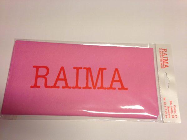 PAPER SEDA RAIMA 75 X 40 ROSA 5 UNITATS