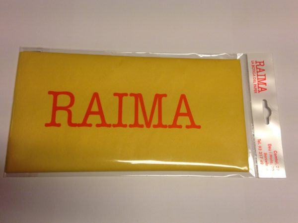 PAPER SEDA RAIMA 75 X 50 GROC 5 UNITATS