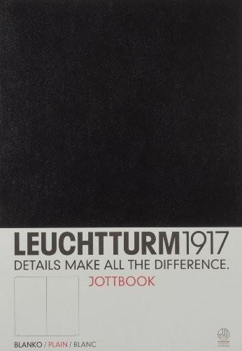 LLIBRE JOTTBOOK LEUCHTTURM1917 MEDIUM TAPA TOVA A5 LLIS NEGRA