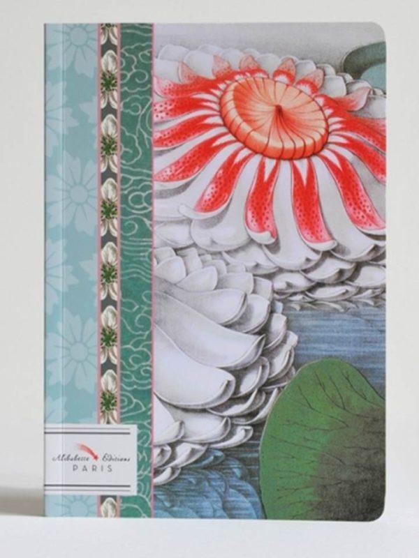 LLIBRETA ALIBABETTE EDITIONS 15X21 RATLLADA NYMPHEAS