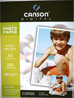 PAPER FOTOGRAFIC CANSON GLOSSY EVERYDAY A4