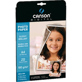 PAPER FOTOGRAFIC CANSON PERFORMANCE GLOSSY A4