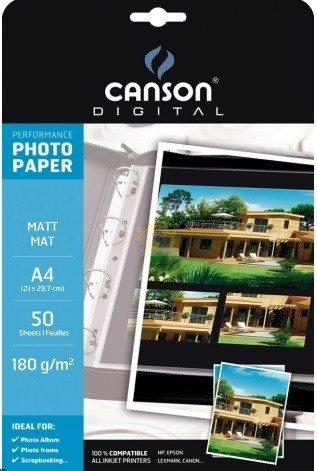 PAPER FOTOGRAFIC CANSON PERFORMANCE A4