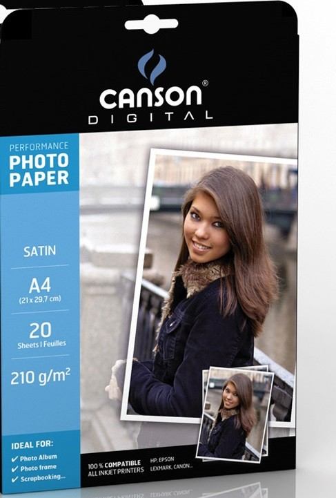 PAPER FOTOGRAFIC CANSON PERFORMANCE SATIN A4