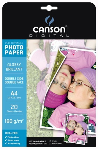 PAPER FOTOGRAFIC CANSON GLOSSY PERFORMANCE A4