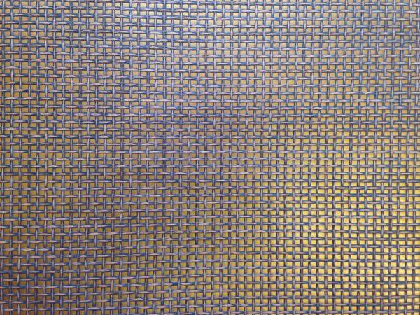 PAPER RAIMA NATURAL 45X60 METALIC GOLD & BLUE