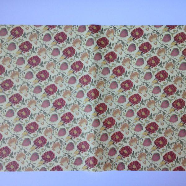 PAPER REGAL RAIMA 50.8X76 STRAWBERRY RED