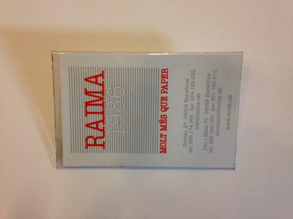TARGETER RAIMA PINÇA / IMPERDIBLE  9 X 5,7