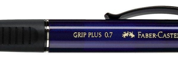 PORTAMINES FABER CASTELL GRIP PLUS 0,7 mm BLAU