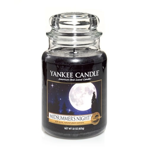 FRAGANCE CANDLE YANKEE CANDLE MIDSUMMERS NIGHT