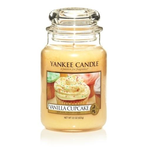 FRAGANCE CANDLE YANKEE CANDLE VAINILLA CUPCAKE