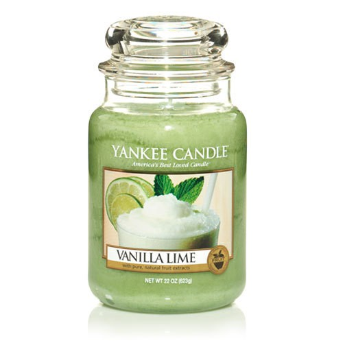 FRAGANCE CANDLE YANKEE CANDLE VAINILLA LIME