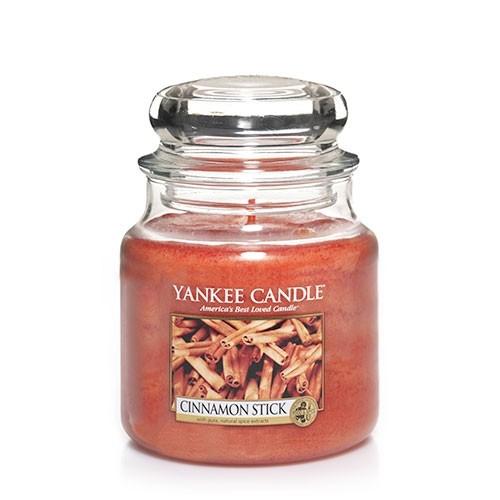 FRAGANCE CANDLE YANKEE CANDLE CINNAMON STICK