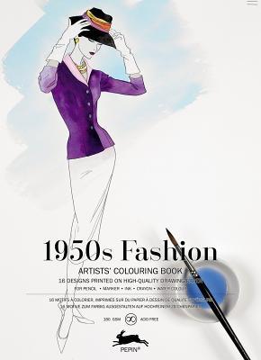LLIBRE ARTISTIC PINTAR 1950'S FASHION 16 FULLS180GR