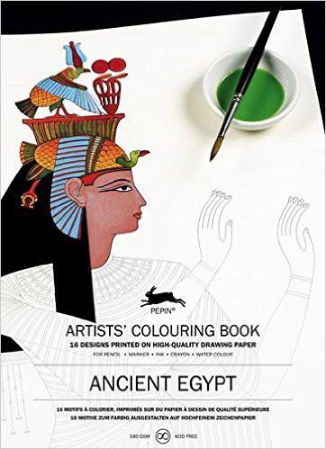 LLIBRE ARTISTIC PINTAR ANCIENT EGYPT 16 FULLS 180 GR