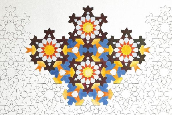 LLIBRE ARTISTIC PINTAR ARABIAN PATTERNS 16 FULLS 180 GR