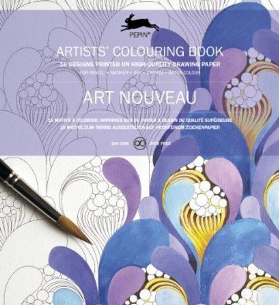 LLIBRE ARTISTIC PINTAR ART NOUVEAU 16 FULLS 180 GR