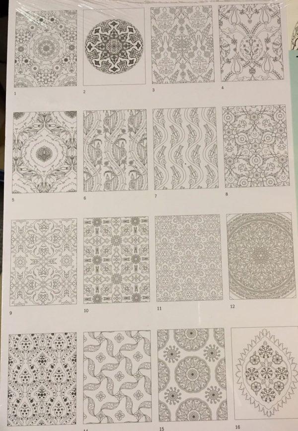 LLIBRE ARTISTIC PINTAR TURKISH DESIGN 16 FULLS 180 GR