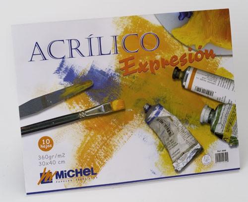 BLOC ACRILIC EXPRESION 24*32CM 360GR