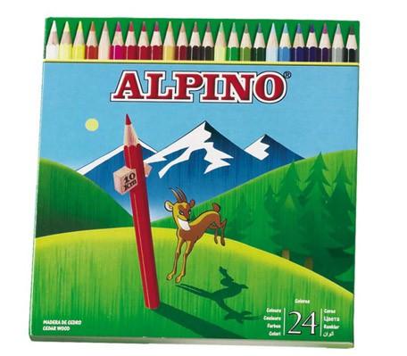 LLAPIS ALPINO CARTRO 24UN