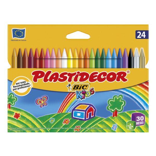 PLASTIDECOR 24 COLORS