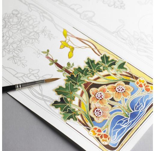 MANDALAS -ARTIST COLORING BOOK-