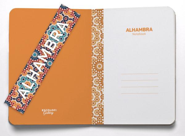 LLIB ALHAMBRA A5 DOTS 40F 90G