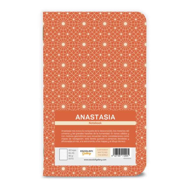 LLIB ANASTASIA A5 DOTS 40F 90G