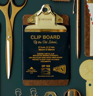 Mini clip/ Clipboard 8,5 x 13 cm