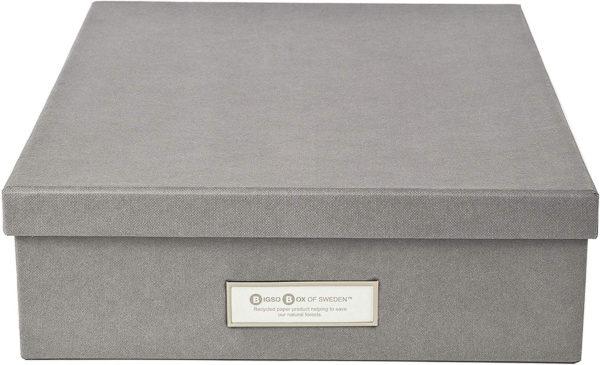 CAPSA DE DOCUMENTS. 26 x 35 x 8,5cm