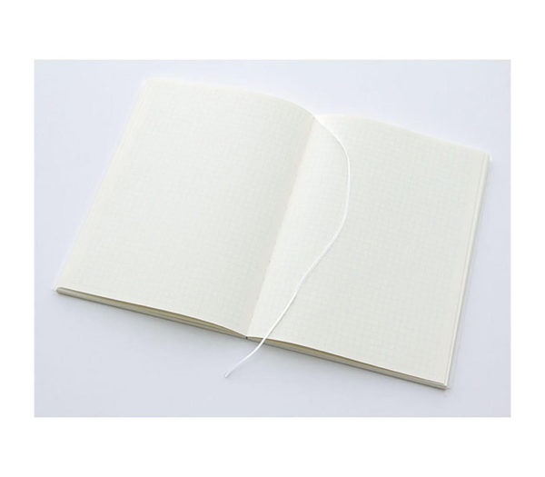 MD Notebook A5 Grid Lines English Caption