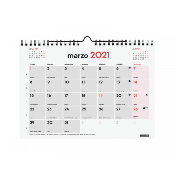 CALENDARI DE PARET PER ESCRIURE-HI 2017 (M)