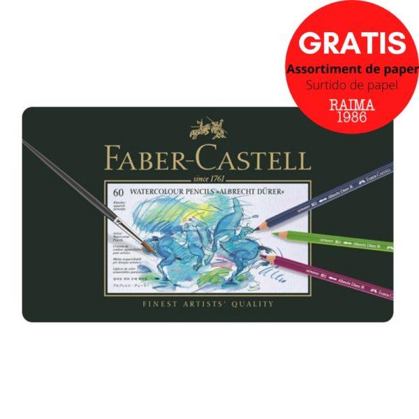 LLAPIS AQUAREL·LABLE FABER CASTELL A. DÜRER (60)