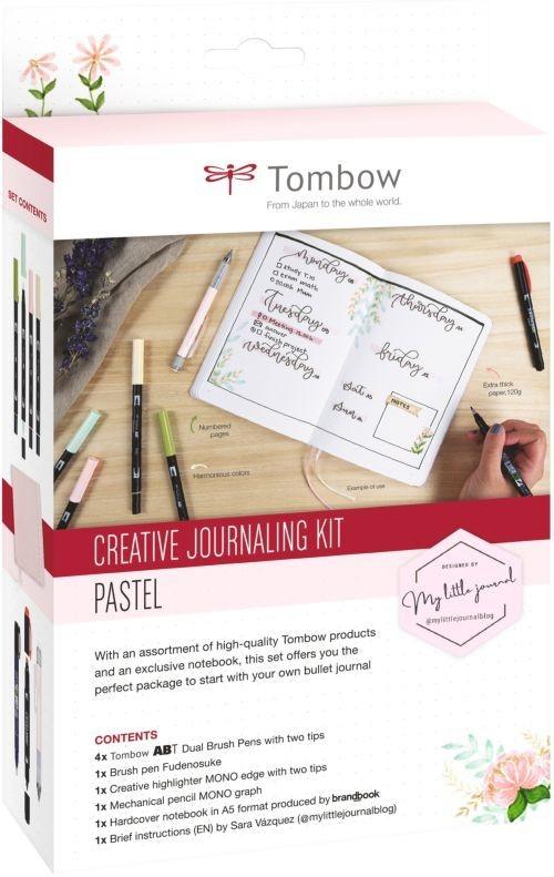 SET CREATIVE JOURNALING PASTEL (D)