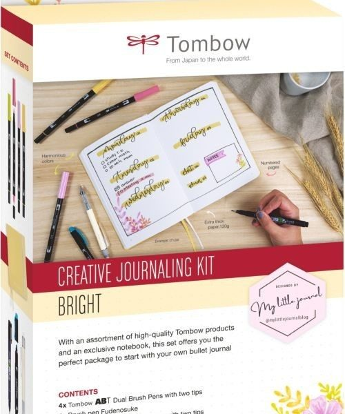 SET CREATIVE JOURNALING BRIGHT (D)