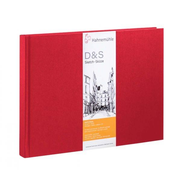 D & S A4 L 80 hojas / 160 páginas 140 g / m2 Rojo