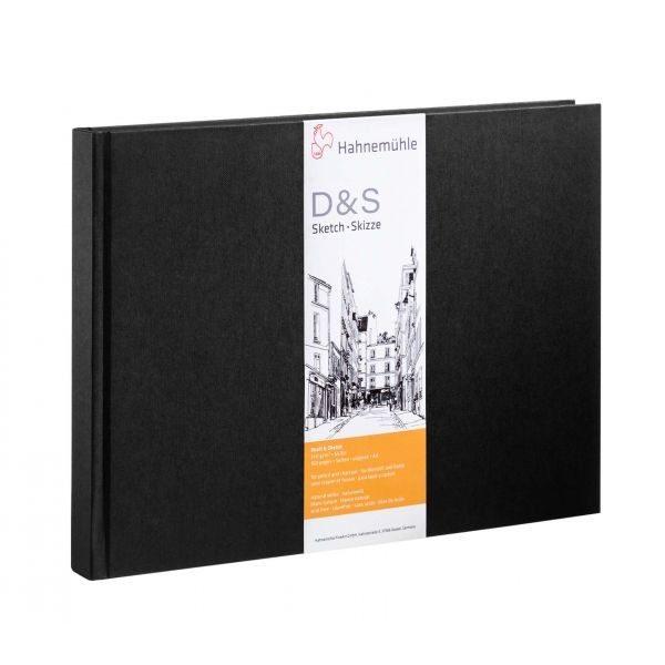 D & S A4 L 80 hojas / 160 páginas 140 g / m2 Negro