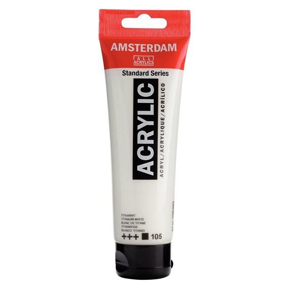 ACRILIC AMSTERDAM 120ML 105 BLC TITANI
