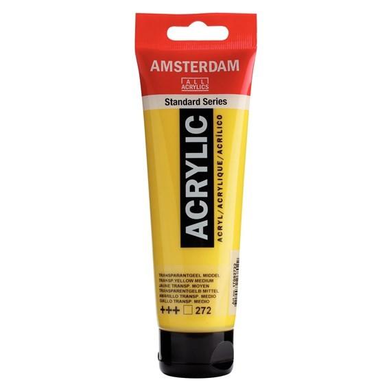 ACRILIC AMSTERDAM 120ML 272 GRC TRANSP MD