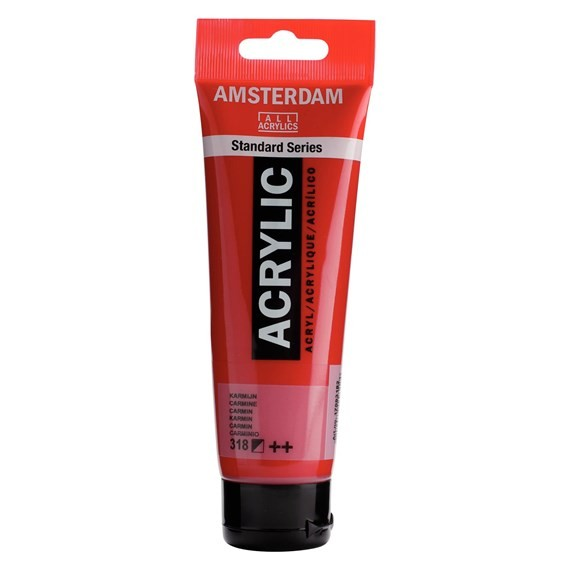 ACRILIC AMSTERDAM 120ML 318 CARMI