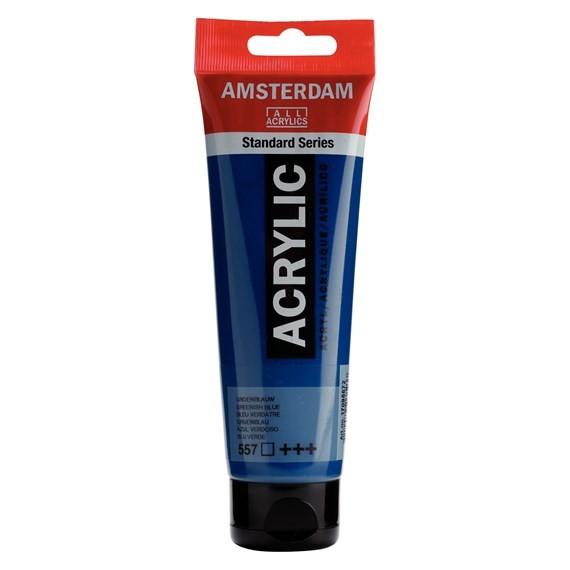 ACRILIC AMSTERDAM 120ML 557 BLU VRD