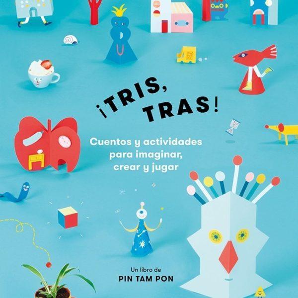 LLIBRE ACTIVITAT ¡TRIS TRAS! PINTAR CAST (D)