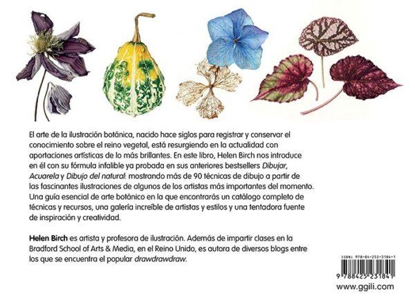 LLLIBRE PINTURA BOTANICA CAST (D)