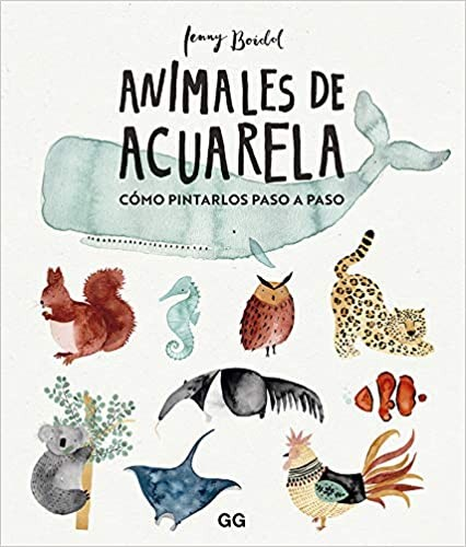 LLIBRE ANIMALS  DE AQUAREL·LA