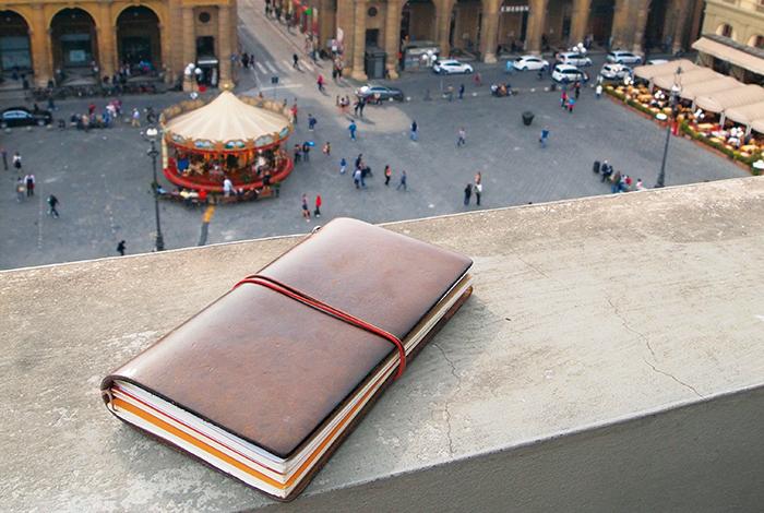 Llibreta per viatjar Travelers Notebook